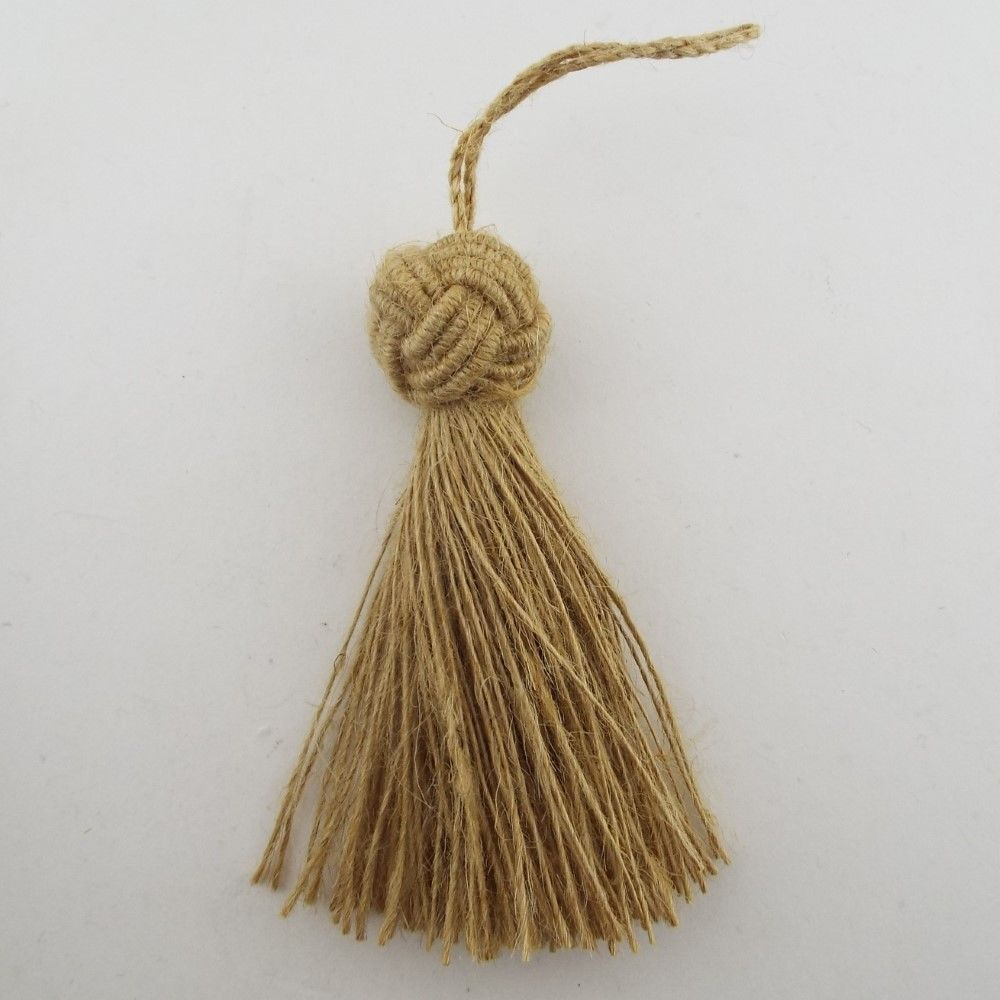 10cm Key Tassel Natural Hemp Jute Craft Sewing Costume Turk Knot Buy