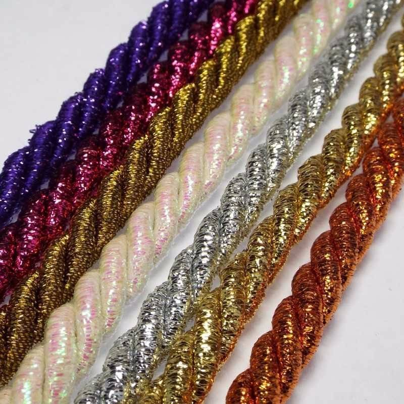 shamballa rope en decorative cord twine rose cotton beading twisted pink waxed string bracelet decor braided valentine